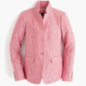 *NWOT* J.CREW Regent Linen Blazer